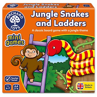 Orchard Mini Game Jungle Snakes and Ladders (£5.50)